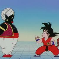 Mr Popo vs Goku