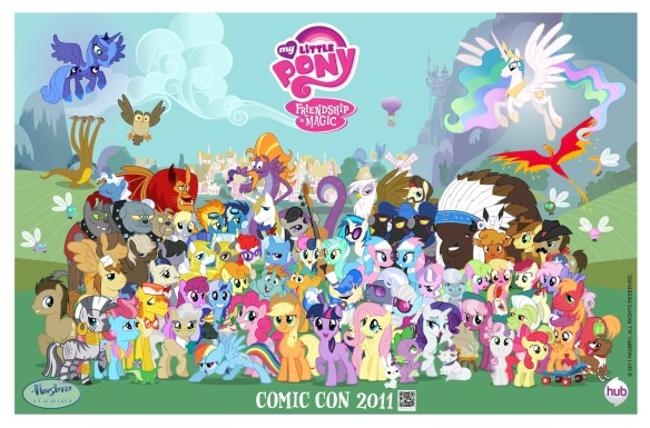 My_Little_Pony_Frienship_is_Magic_Comic_Con_2011_poster