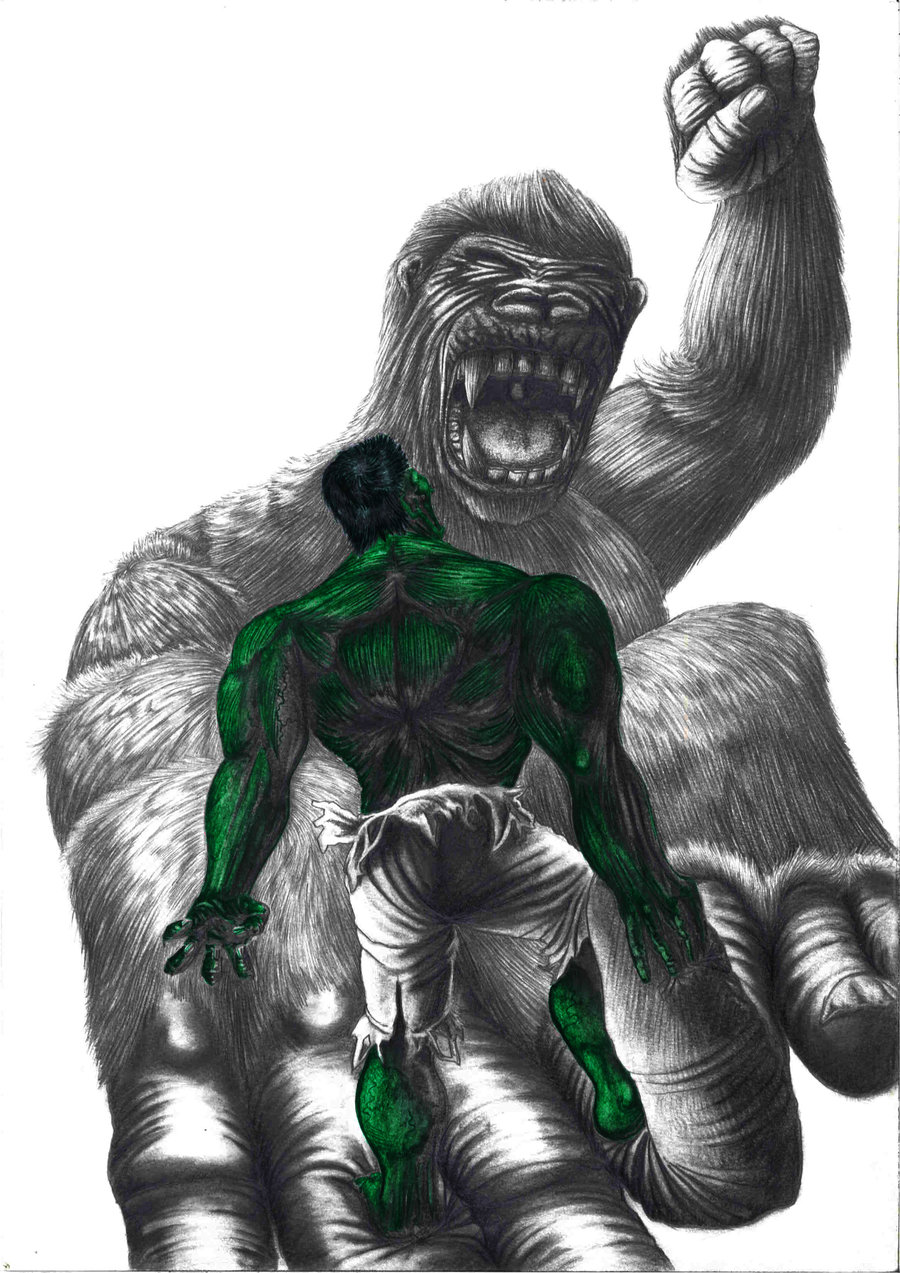 King Kong Vs Hulk Movie King Kong vs Hulk | DR...