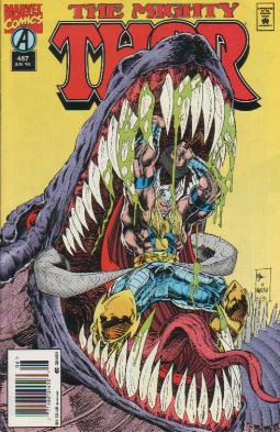 Midgard Serpent vs Thor | DReager1's Blog