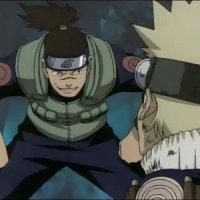 Naruto vs Iruka