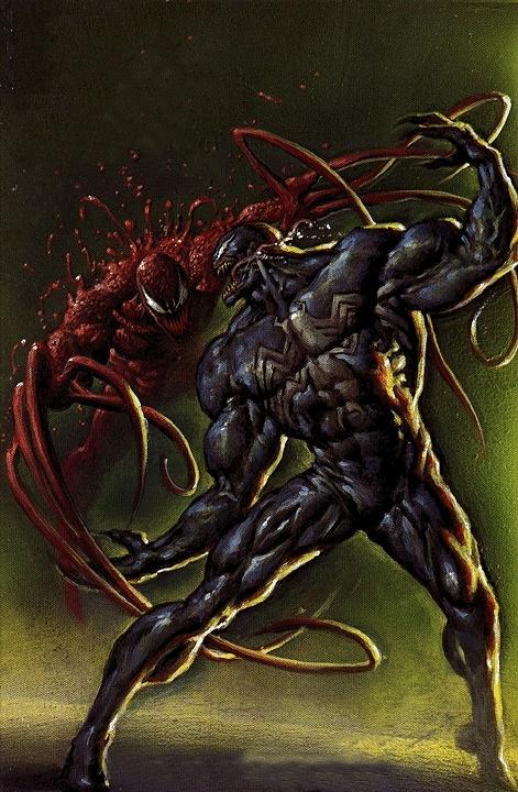 Black suit spiderman vs carnage - photo#17