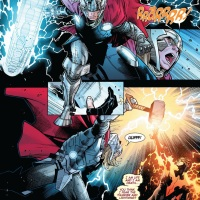 Cyclops vs Thor