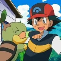 Turtwig vs Ash
