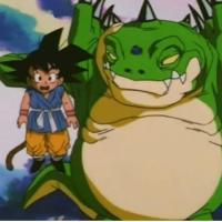 Haze Shenron vs Goku