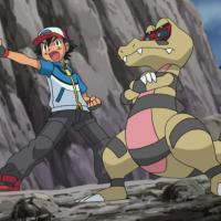 Krookodile vs Ash