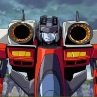 Starscream (Unicron) vs Lazerman