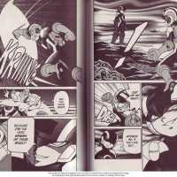 Dark Megaman vs Megaman