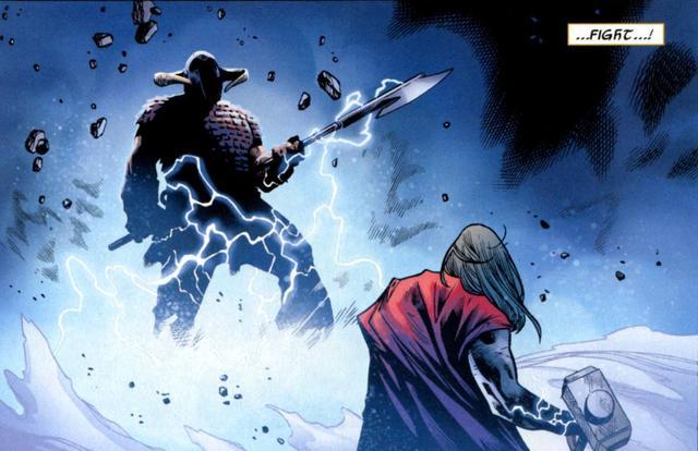 Thor vs Bor – DReager1 com