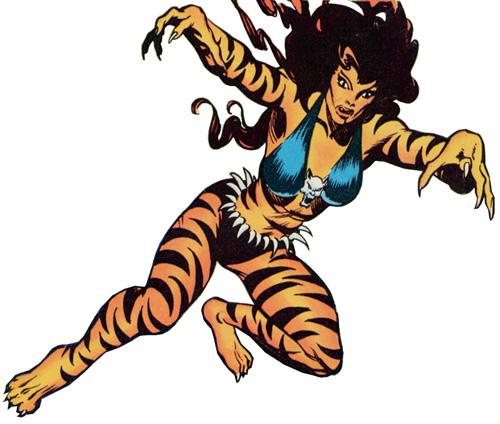 Marvel Tigra Son Tigra Battles |...