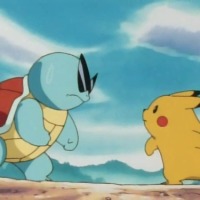 Squirtle vs Pikachu