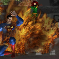 Superman vs Jean Grey