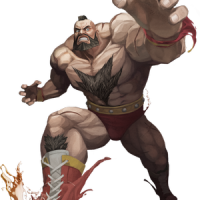 Super Skrull vs Zangief