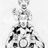 Franklin Richards vs Mr Fantastic