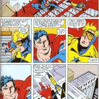 Booster Gold vs Superman