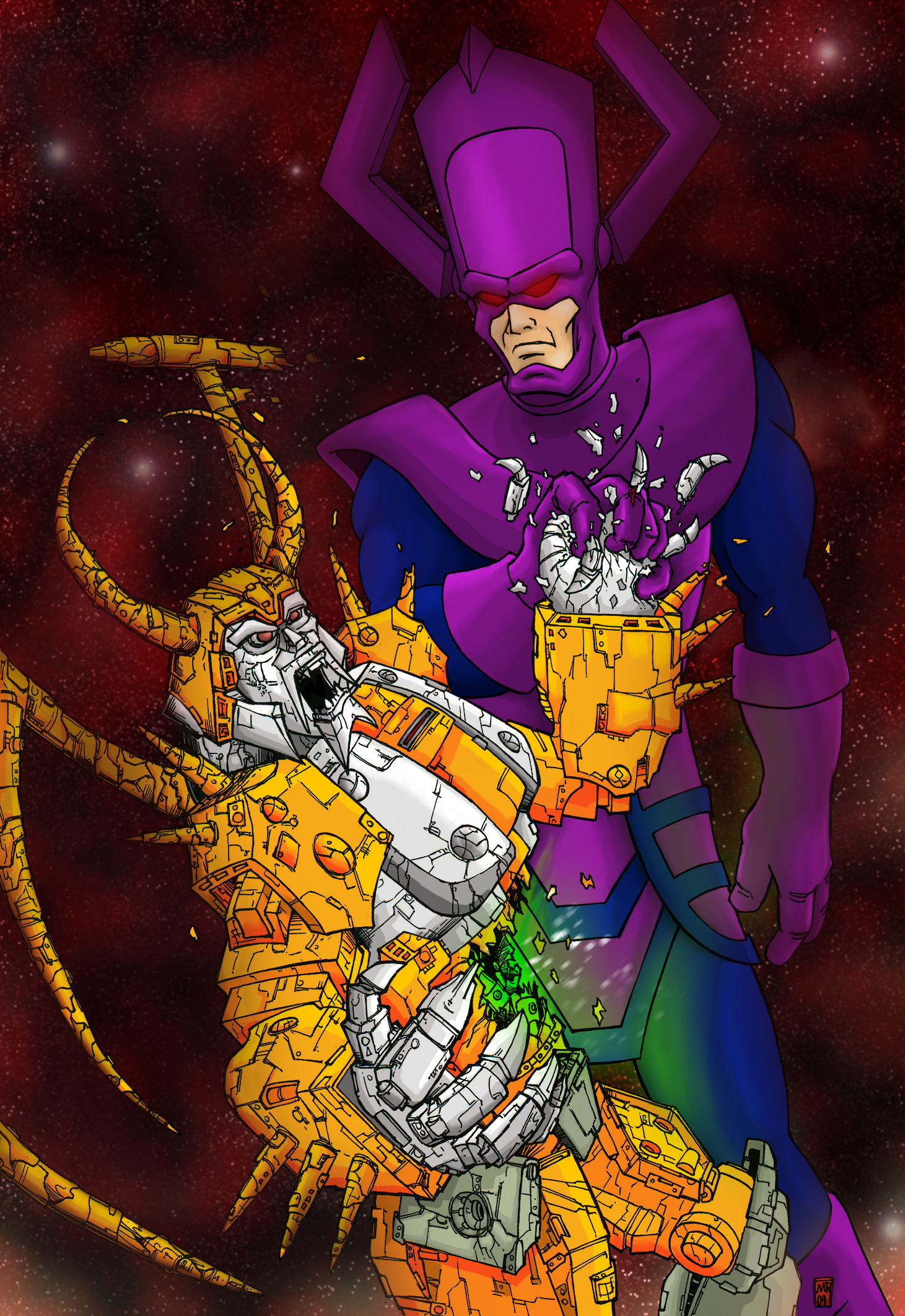 Unicron Vs Galactus Dreager1 S Blog