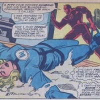 Trapster vs Invisible Woman