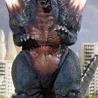 Space Godzilla vs Tom