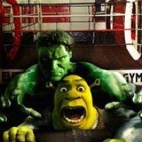 Shrek vs Hulk
