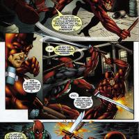 Daredevil vs Deadpool
