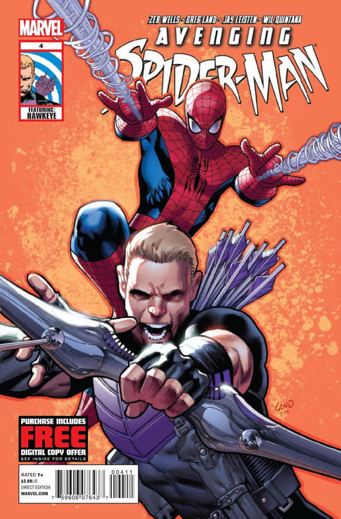 Hawkeye vs Spiderman
