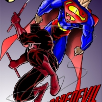 Daredevil vs Superman