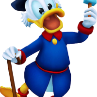 Scrooge McDuck vs Sora (Digimon)