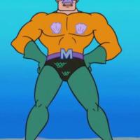 Mermaid Man vs Luke Cage