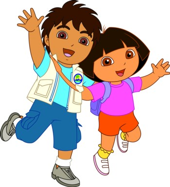 Dora The Explorer vs Diego