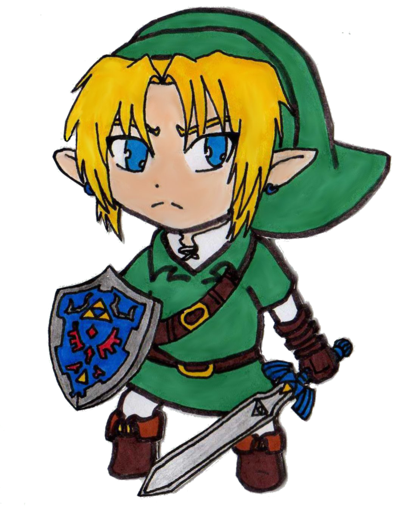 chibi_link___ocarina_of_time_by_easteregg23-d4om42w