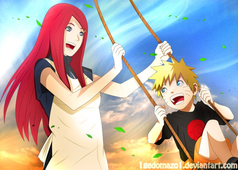 kushina_and_naruto_____by_1gedomazo1-d5g8lgr