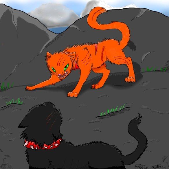 firestar_v_s__scourge_by_freeze_ice_fox-d40pzpl