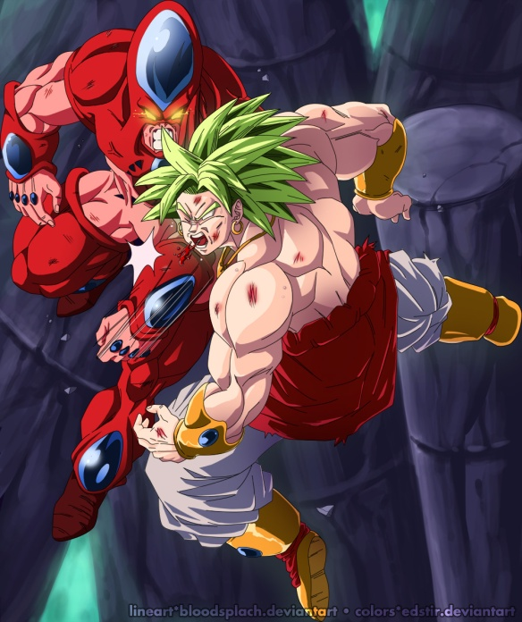hatchiyack_vs_broly_by_edstir-d5h2p3g