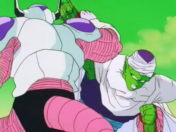 Piccolo vs Frieza