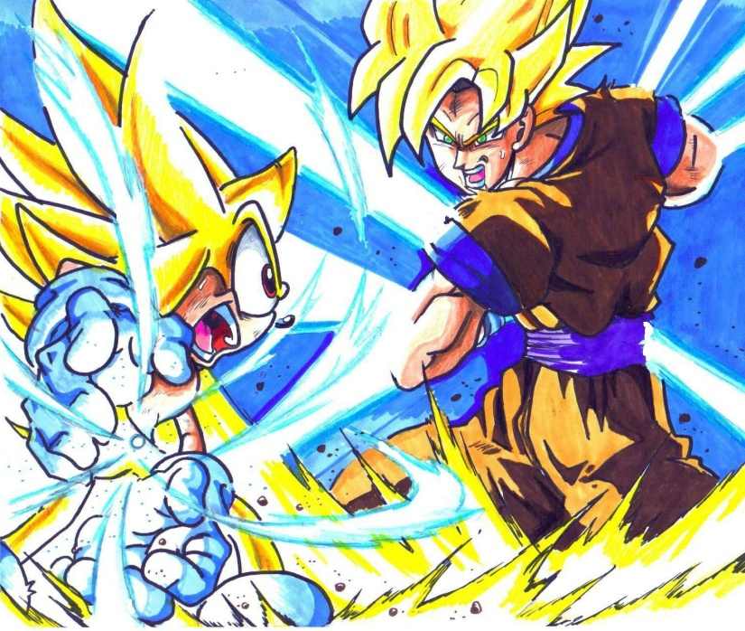 super_sonic_vs__ssj_goku_by_trunks24-d3dsuf6