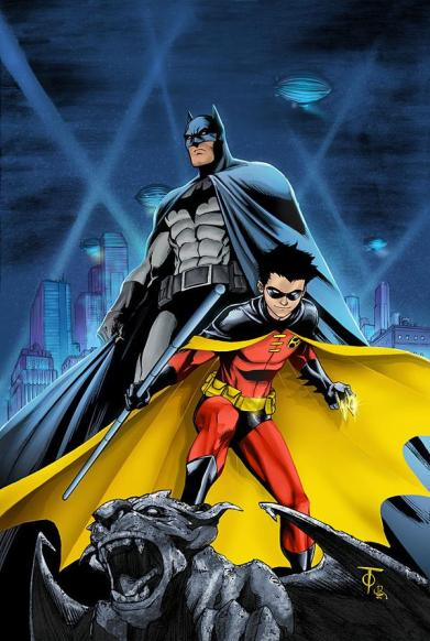 Batman vs Robin (Tim)