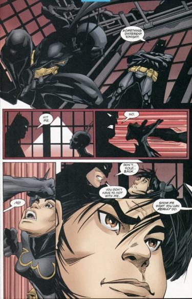 Batman vs Batgirl (Cassandra)