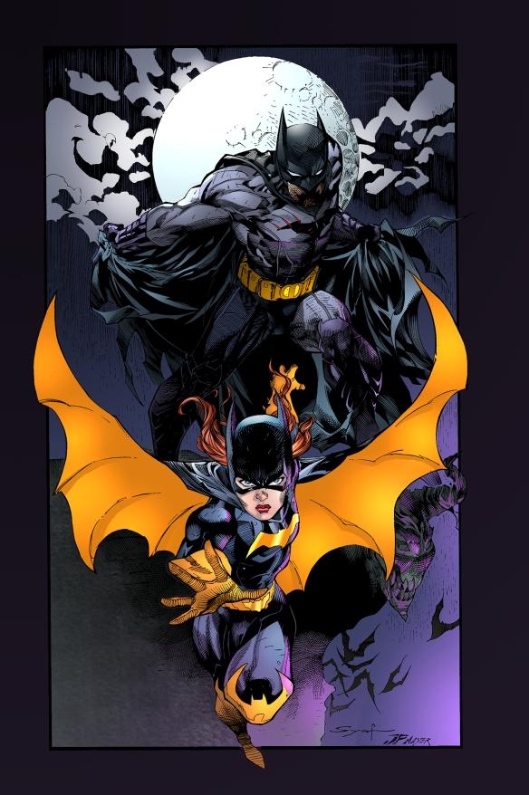 batman_and_batgirl_by_comicface-d50pg4w