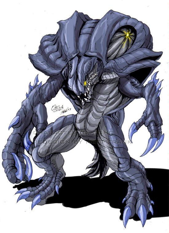 Godzilla_Neo___ORGA_by_KaijuSamurai
