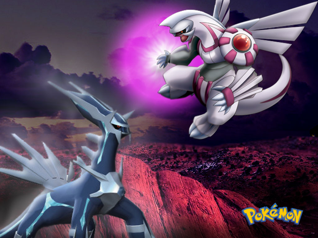 Dialga And Palkia Fusion Dialga and Palkia are pretty