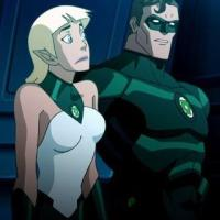Arisia vs Green Lantern