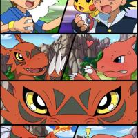 Takato vs Ash