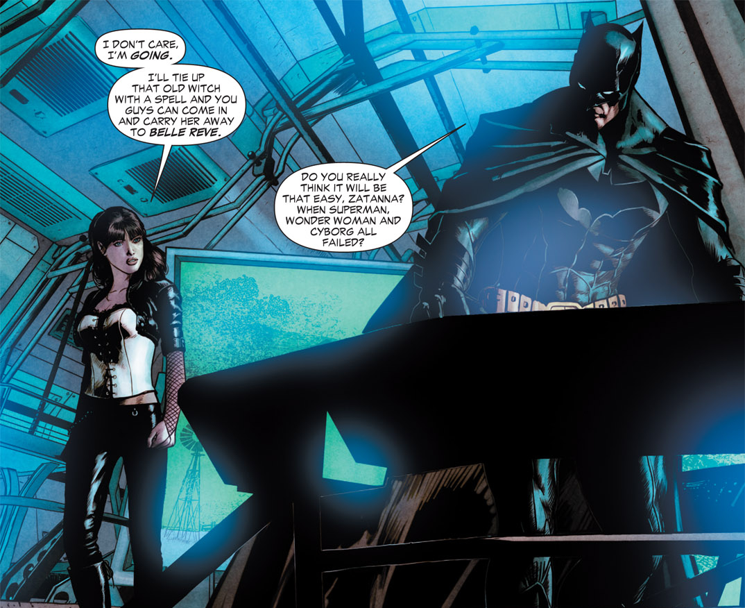 Batman vs Zatanna | DReager1's Blog
