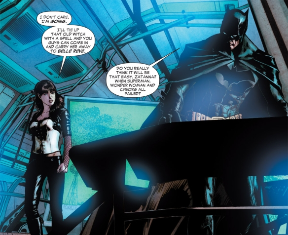 Batman vs Zatanna