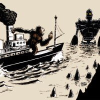 King Kong vs Iron Giant