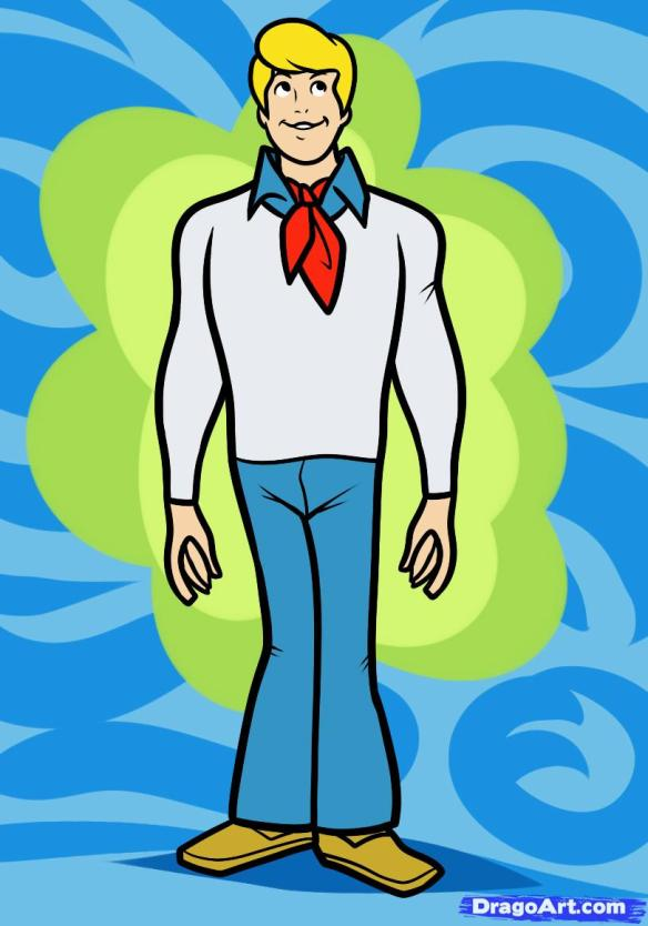 learn-to-draw-fred-from-scooby-doo