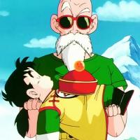 Master Roshi vs Gohan