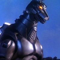 Mecha Godzilla 2 vs Barney