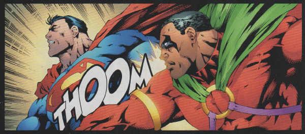 Superman vs Icon | DReager1's Blog