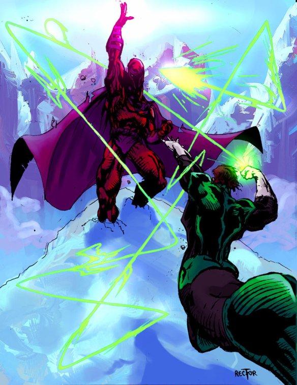 Magneto_VS_Green_Lantern